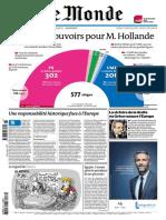 Une - Les Pleins Pouvoirs Pour M Hollande - 19-02-2012