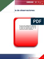 7 1.2 Teoría de Observaciones