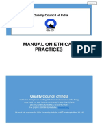 Manual Ethical Practices 2016