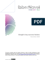 Google Key Success Factors