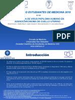 PREVALENCIA DE VIRUS PAPILOMA HUMANO EN ADENOCARCINOMA DE CUELLO UTERINO
