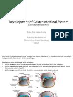 Development of Gastrointestinal System.pptx