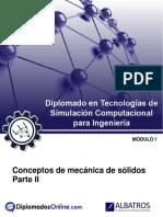 Guía - Conceptos de Mecánica de Sólidos II