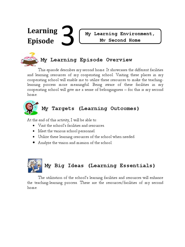 Episode-3.docx | Classroom | Learning