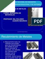 1.Recubrimiento de Metales