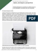 __História Intelectual_ Objetos, Abordagens e Perspectivas _ Café História