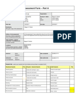 risk assesment fmp book logs