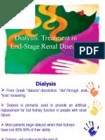 Hemodialysis and Peritoneal Dialysis