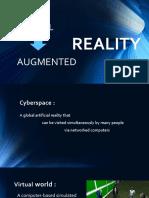 Augmented Reality vs Virtual Reality