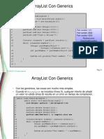 ArrayList Con y Sin Genericos