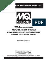 Motor Yanmar l48v6 Compactador Mvh-150d2