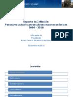 Reporte de Inflacion Diciembre 2016 Presentacion
