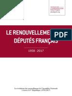 Le renouvellement des députés français