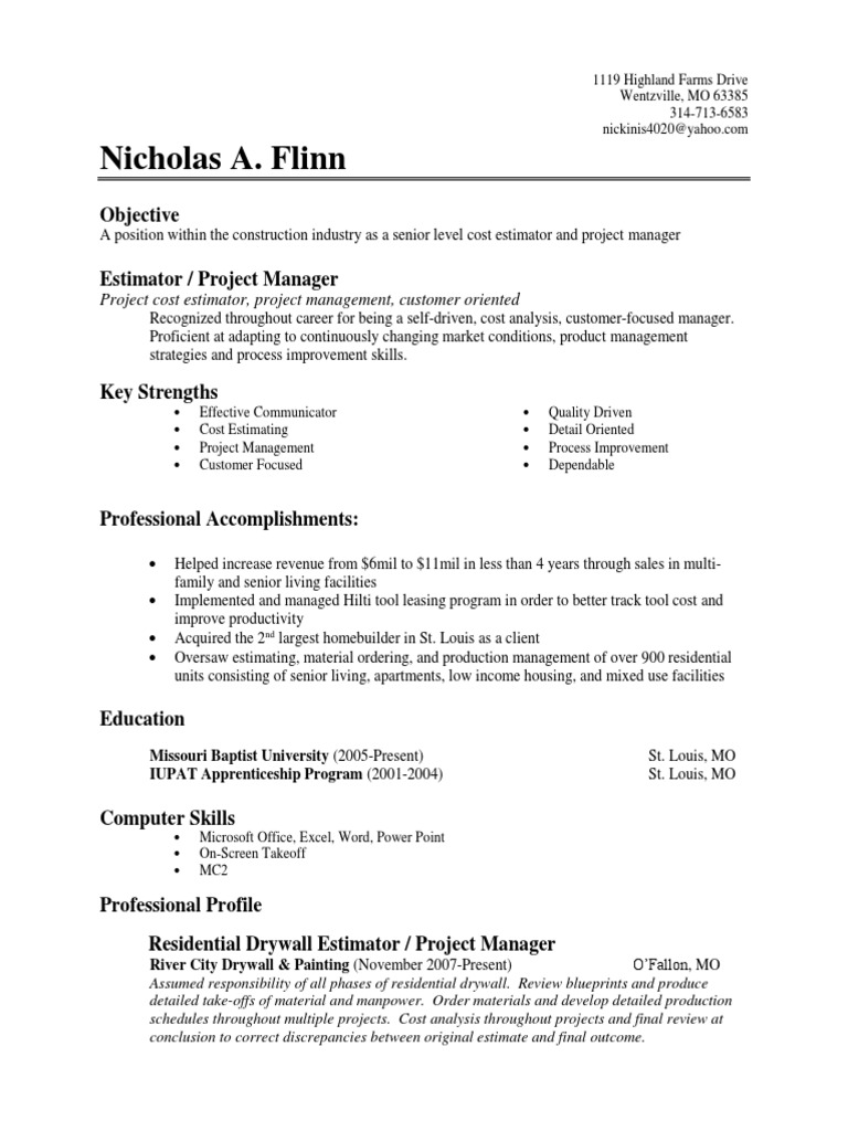 Nick flinn resume business writing edit project manager nick flinn resume business writing edit project manager project management xflitez Image collections