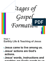 Stages of Gospel Formation Rev