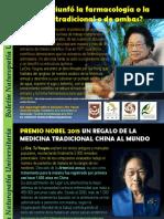 Artemisia Annua Cancer Malaria Premio Nobel