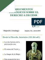 ARGUMENTOS TEOLÓGICOS SOBRE EL DERECHO A DECIDIR.ppt