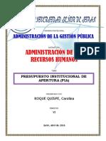 PROYECTO INICIAL DE APERTURA