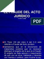 11 Ava Clase El Fraude Del Acto Juridico 11