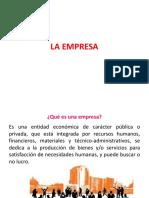 La Empresa y Su Clasificaci n 2