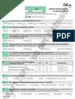 NTA user satisfaction survey