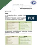 Informe de Análisis FODA
