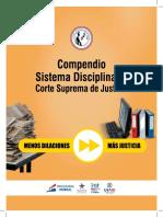 COMPENDIO SISTEMA DISCIPLINARIO. CORTE SUPREMA DE JUSTICIA.pdf
