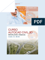 Brochure Autocad Civil 3d