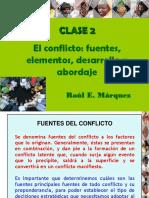 Clase 2 CONFLICTO Fuentes y Desarrollo
