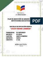 Reducción de Riesgos Julio Cesar Larrea