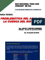Problemática Del Agua en La Cuenca Del Río Ica (UNIVERSIDAD ICA)