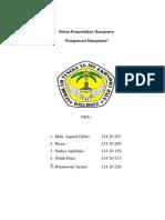 Makalah Sistem Pengendalian Manajemen Ko