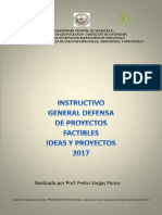 Manual e Instructivo Ideas y Proyectos 2017 Premio a La Excelencia