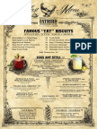 Fatbird Breakfast/Brunch menu