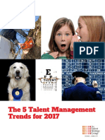 5 Talent Management Trends for 2017