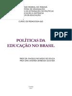 Politicas Da Educação No Brasil Ufpr