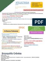 Fisiopatologia EPOC Atelectasia