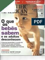 Artigo Scientific American Brasil - O Que Os Bebês Sabem e Os Adultos Desconhecem