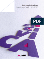 ENCCIVICA- estrategia nacional de cultura civica del INE