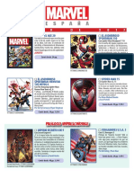 Catalogo Marvel 19 Mini