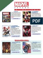 Catalogo Marvel 19 Mini