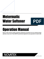 Novatek Metermatic Water Softener 51877 English