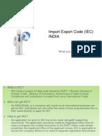 IEC Documentation Procedure