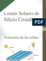 Celdas Solares de Silicio Cristalino