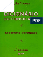Dicionário do Principiante Esperanto - Português