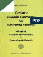 Vortaro Volapük-Esperanto kaj Esperanto-Volapük