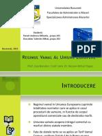 52750356 Regimul Vamal Al Uniunii Europene Prezentare
