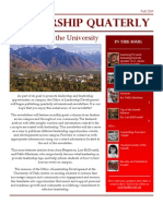 Fall 2009 Newsletter