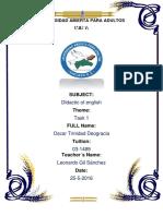Tarea Didactica Del English 1