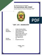 INFORME ART. 105 DESERCIÓN.docx